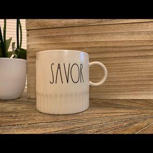 •Rae Dunn• SAVOR mug